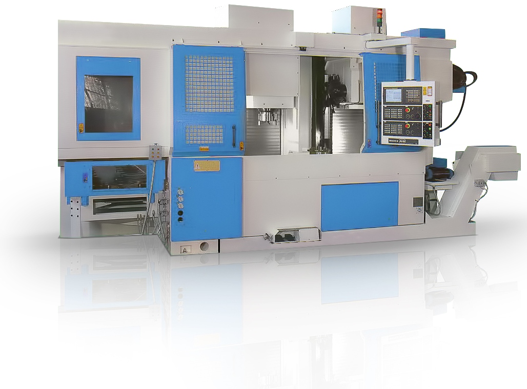 Vertical Twin-Spindle Lathe VLxx Series