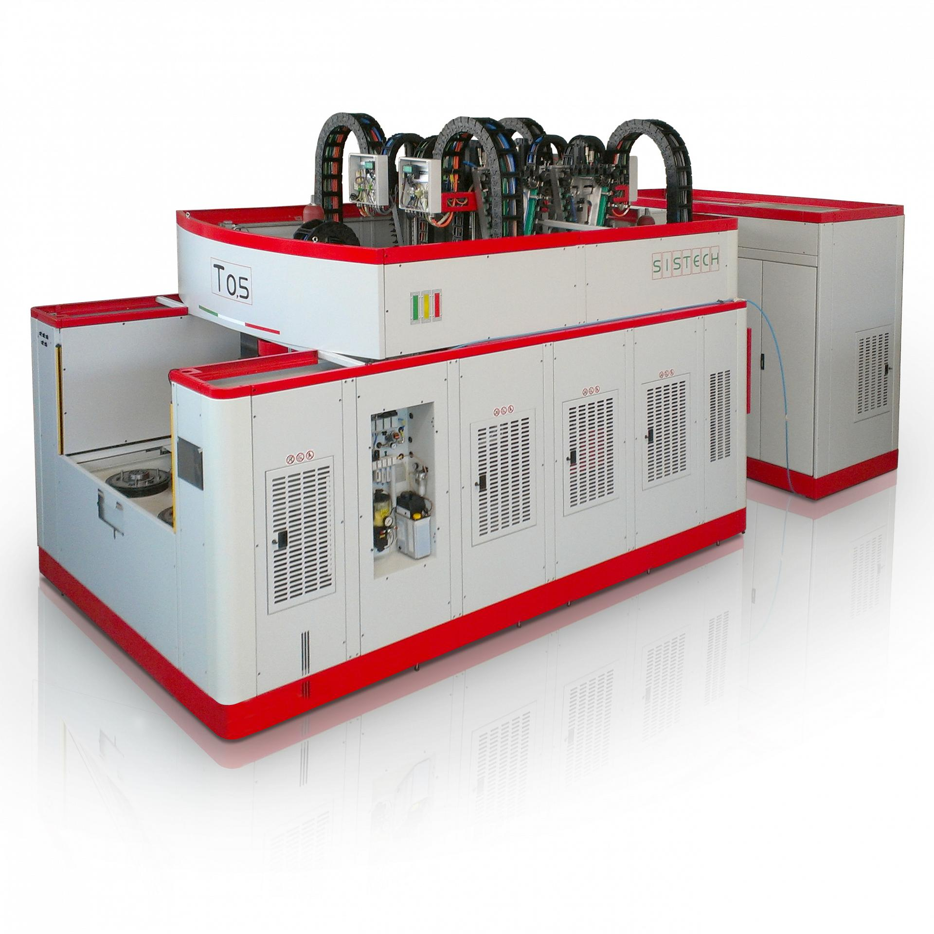 Twin-Spindle and Four-Spindle CNC Machining Centres